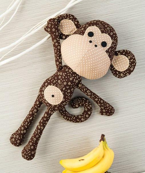 Игрушка обезьяна сшить своими руками