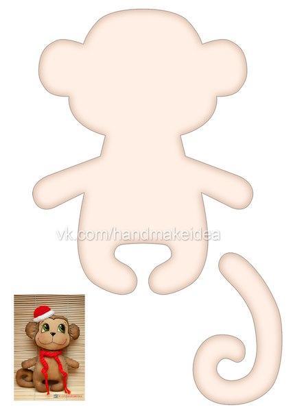 Кофейная обезьянка своими руками выкройки